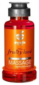 Swede Fruity Love Massage - owocowy żel do masażu 100 ml (morela - pomarańcza)