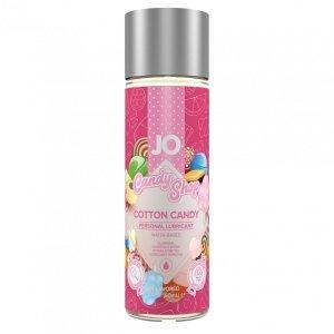 System JO Candy Shop H2O Cotton Candy Lubricant 60 ml - lubrykant na bazie wody o smaku waty cukrowej