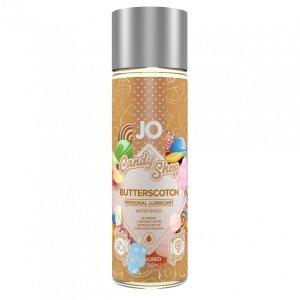 System JO Candy Shop H2O Butterscotch Lubricant 60 ml - lubrykant na bazie wody o smaku toffi