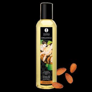 Shunga Almond Sweetness Organic Massage Oil 250 ml - olejek do masażu erotycznego (migdałowy)