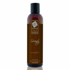 Sliquid Balance Massage Serenity 255 ml - Olejek do masażu (wanilia)