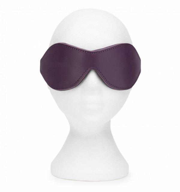 Fifty Shades Freed - opaska na oczy skórzana Cherished Collection (Leather Blindfold)