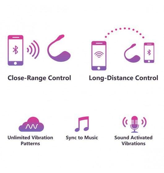 Lovense Lush 2 - wibrator z aplikacją