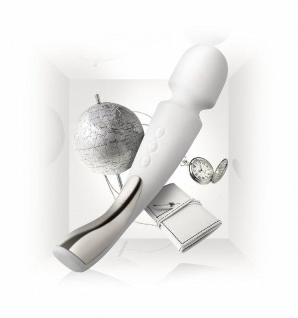 LELO Smart Wand Medium - Masażer do ciała (kość słoniowa)