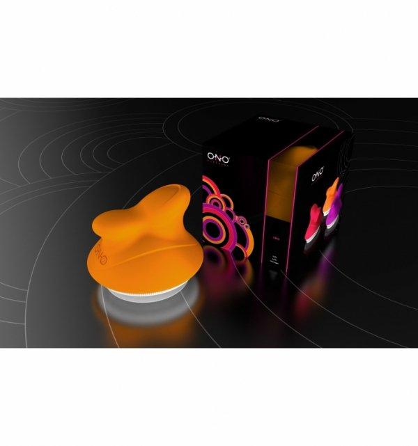 Masażer intymny ONO - Cleo, pomarańcz