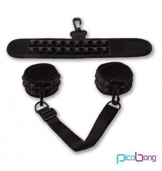 Picobong by LELO - sex kajdanki, czarne