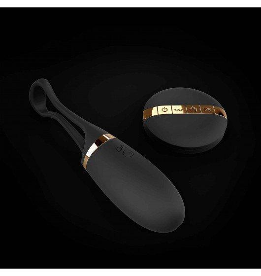 Marc Dorcel Secret Delight - wielofunkcyjny stymulator (czarno - złoty)