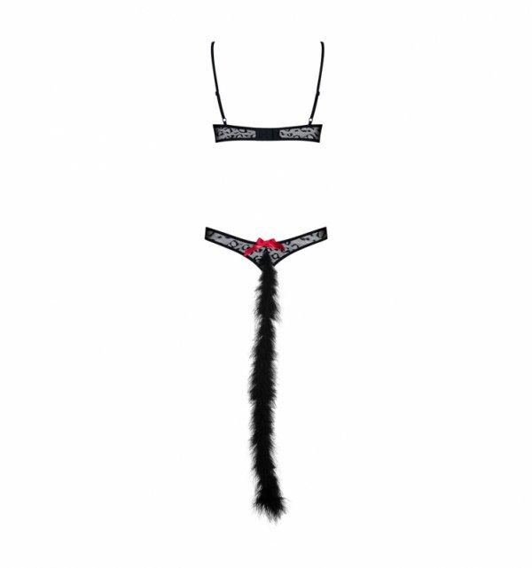 Obsessive Gepardina kostium L/XL (czarny)