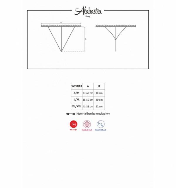 Obsessive Alabastra stringi S/M