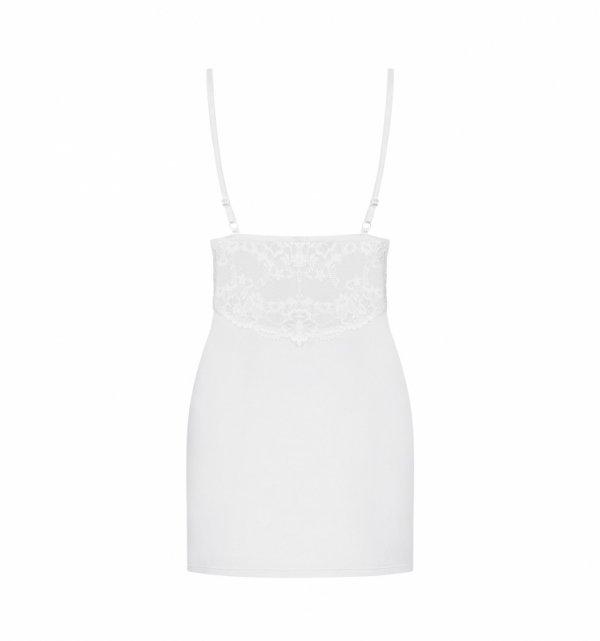 Obsessive 810-CHE koszulka biała S/M