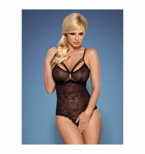 Obsessive 818-TED-1 body czarne S/M