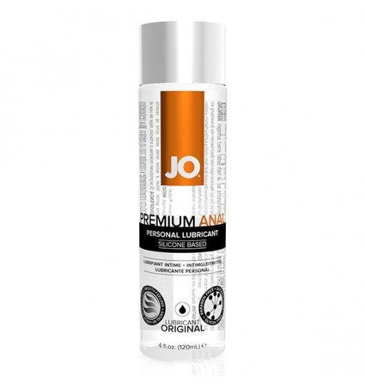 System JO Premium Anal Silicone Lubricant 120 ml - lubrykant analny na bazie silikonu