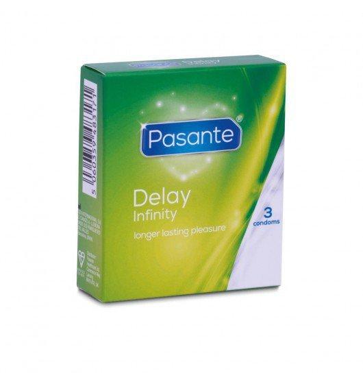Prezerwatywy Pasante - Delay (1 op. / 3 szt.)