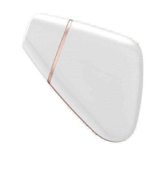 Satisfyer Love Triangle incl. Bluetooth and App - stymulator łechtaczki (biały)