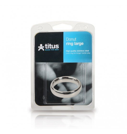 Titus Range: 45mm Donut C-Ring 15x8mm - pierścień na penisa