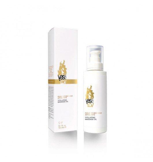 YESforLOV Titillating Massage Oil 100ml - olejek do masażu erotycznego