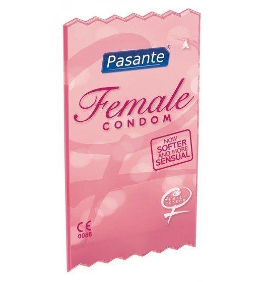 Prezerwatywy Pasante - Female Condom (1op. / 3 szt.)