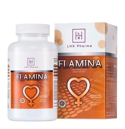LHX Flamina 60szt. - tabletki na potencję u Pań