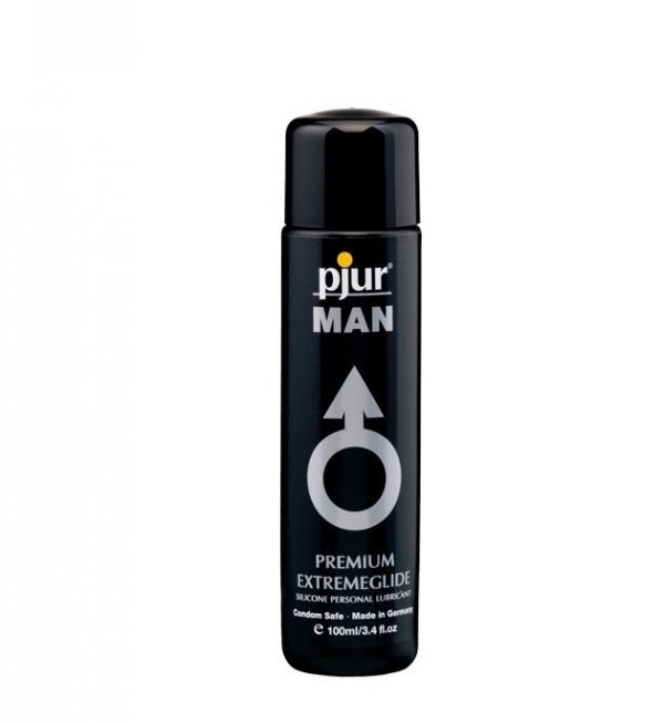 pjur MAN Extremeglide 100ml - lubrykant na bazie silikonu