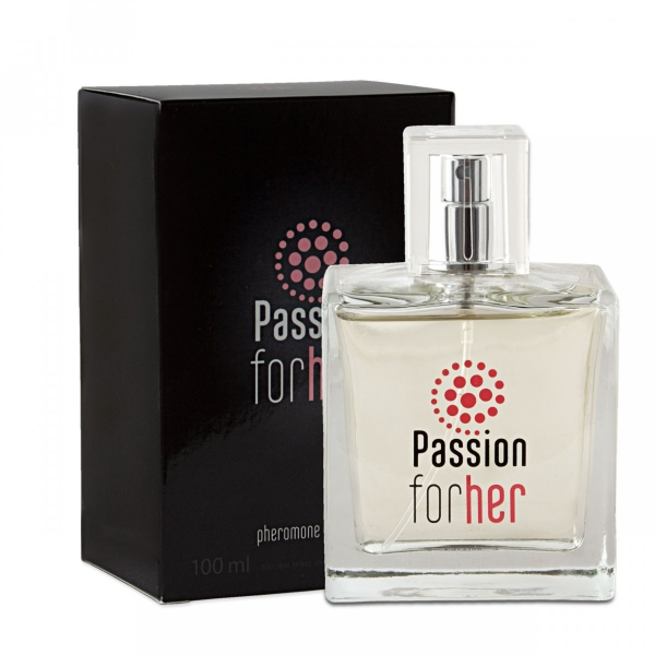 Passion for her 100ml – perfumy z feromonami - damskie