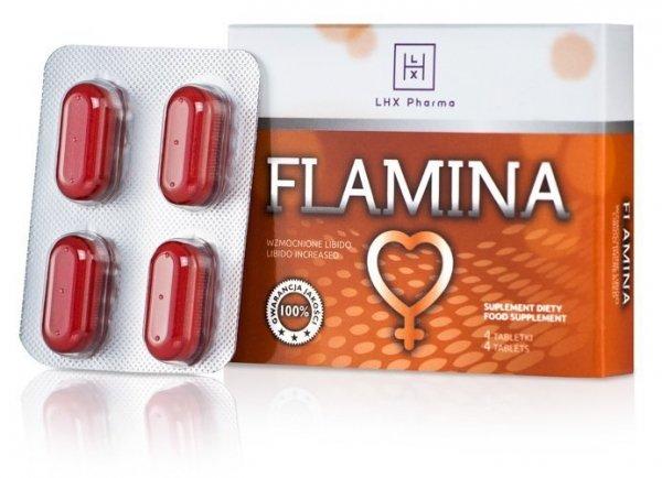 LHX Flamina 4 tabletki na potencję u Pań