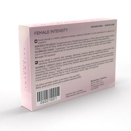 Female Intensity - 10 kapsułek (tabletek) na libido u kobiet