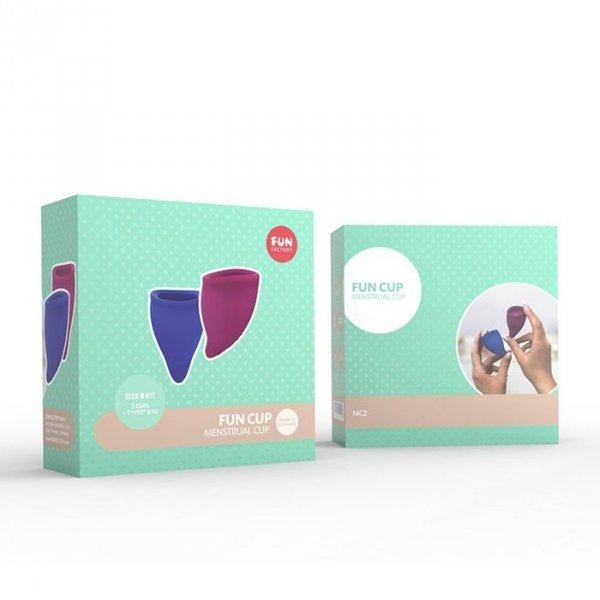 Kubeczek menstruacyjny Fun Factory duży B, 2 szt.