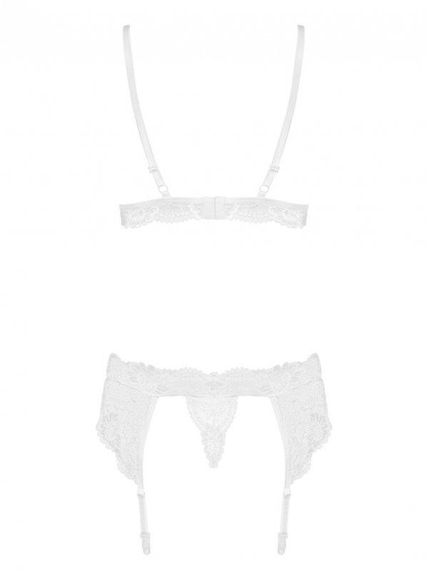 Obsessive 810-SEG komplet L/XL (biały)