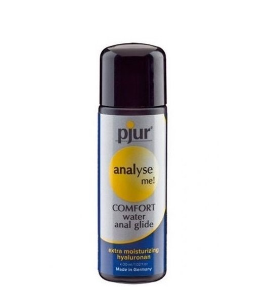 pjur analyse me! comfort water anal glide 30 - lubrykant analny na bazie wodyml