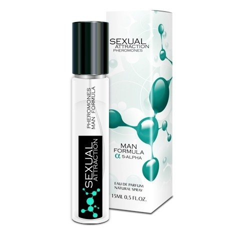 Sexual Attraction 15ml perfumy z feromonami - męskie
