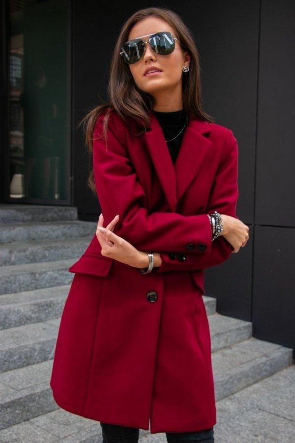Roco Fashion 0012 płaszcz 40 (bordowy)