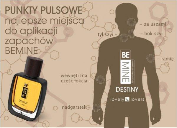 LOVELY LOVERS Be Mine Destiny 50ml man - perfumy męskie z feromonami