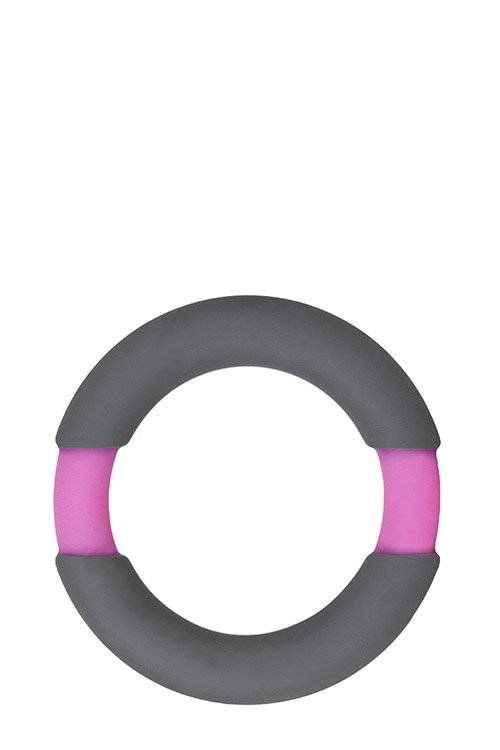 Neon Stimu Ring 32mm Grey/Pink