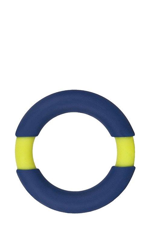 Neon Stimu Ring 32mm Blue/Yellow