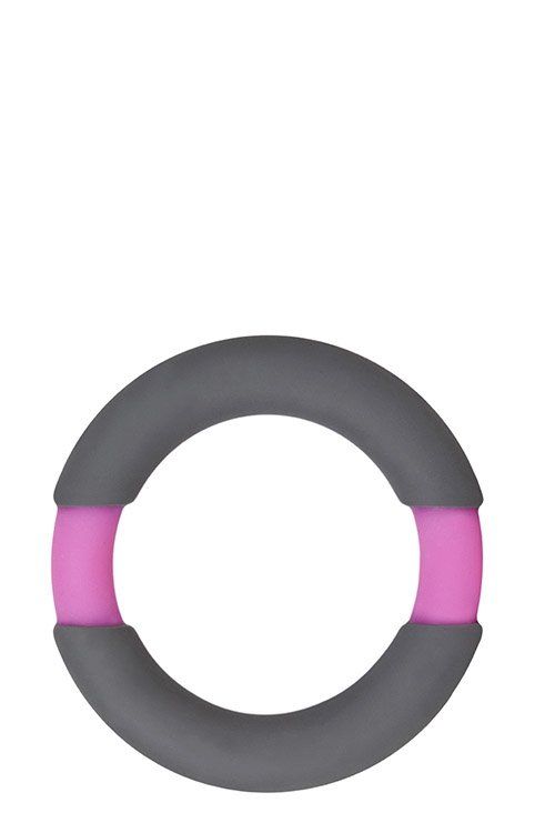 Neon Stimu Ring 42mm Grey/Pink