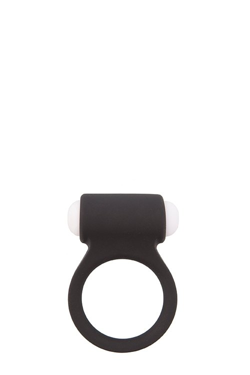 Lit-Up Silicone Stimu Ring 3 Black