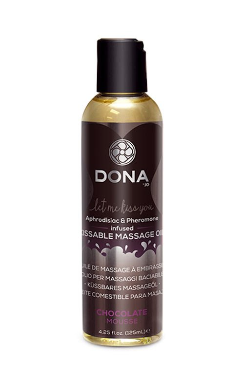 Dona Kissable Massage Oil - Chocolate