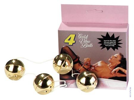 Duoballs Gold 4 Pcs