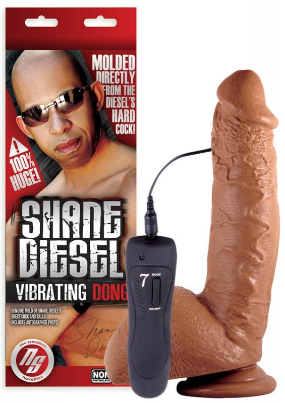 NS Novelties Shane Diesel Vibrating Dildo