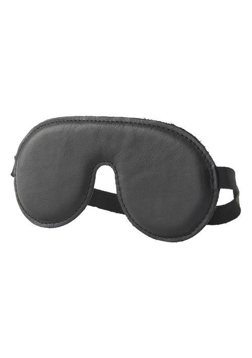 Eyemask Leather Black