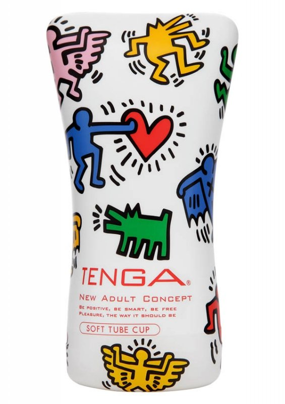 Keith Haring Soft Tupe Cup