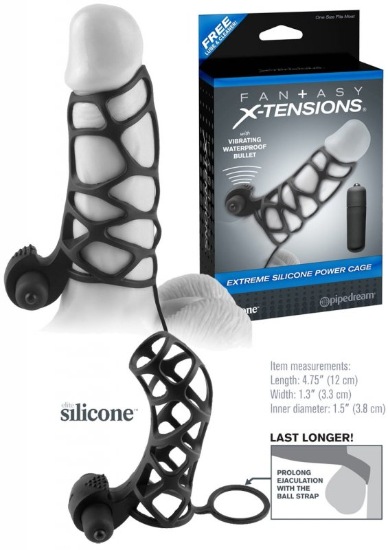 Fx Extreme Silicone Power Cage