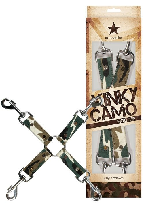 NS Novelties Kinky Camo Hogtie