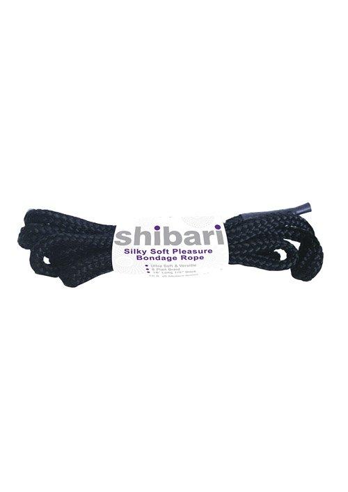 Silky Soft Bondage Rope 5m Black