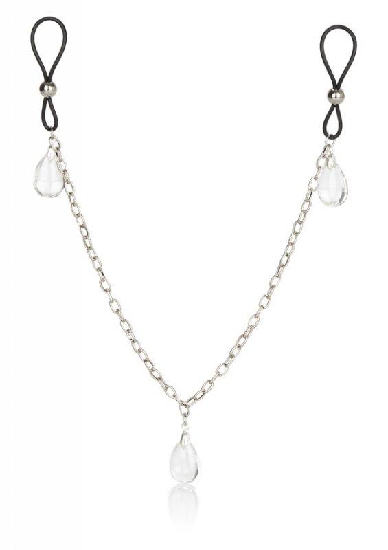 Nonpiercing Nipple Chain Jewelry Cr