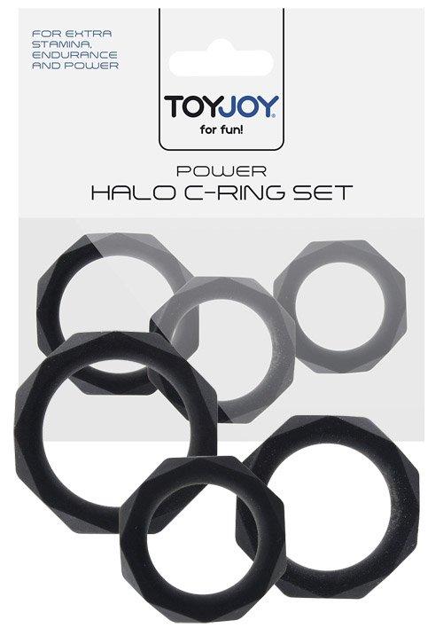 Power Halo C-Ring Set Black