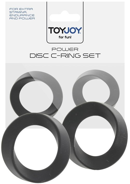 Power Disc C-Ring Set Black