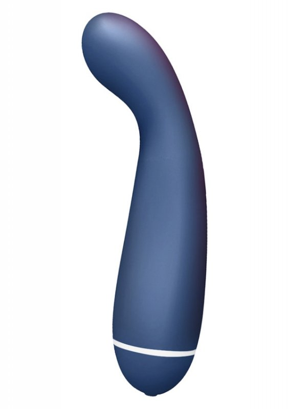 Intro 6 Curved G-Spot Vibe Blue