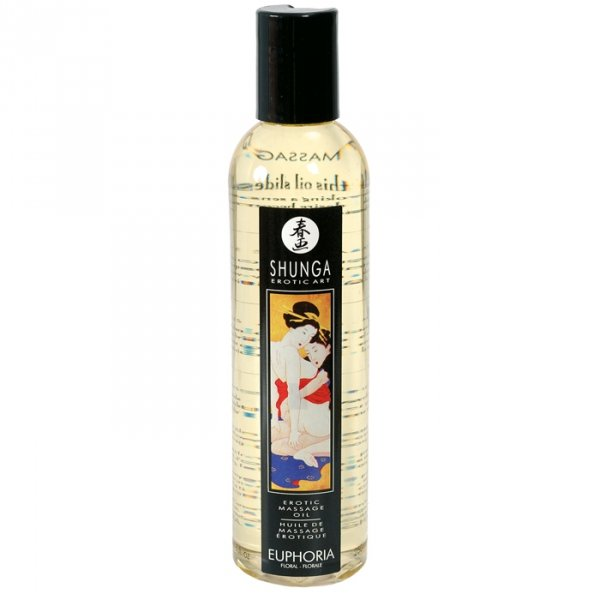 Shunga Massage Oil Euphoria 250 Ml.