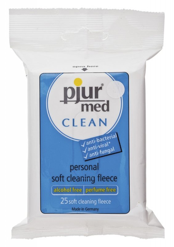 Pjur Med Clean Fleece A 25 Pcs.